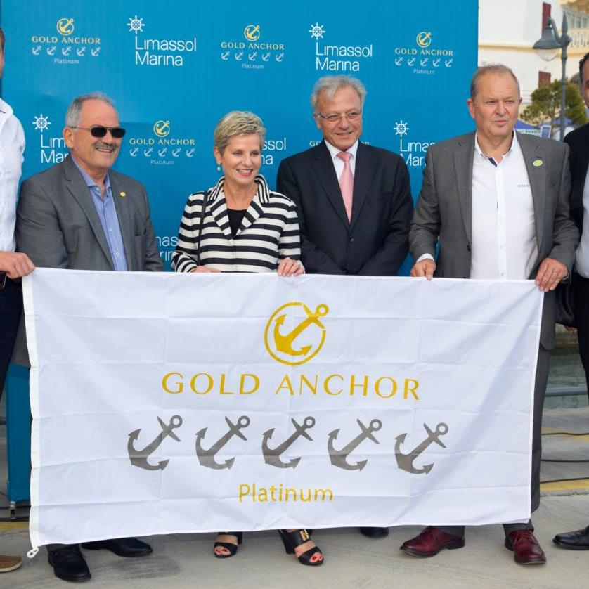 Limassol Marina Achieves 5  Gold Anchor Platinum